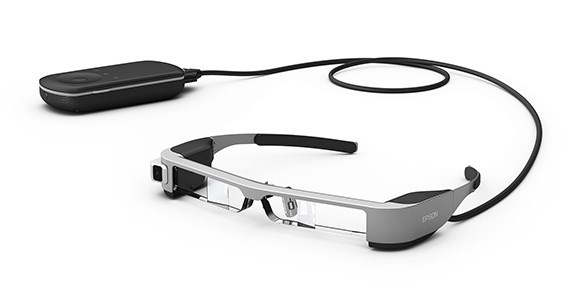 master model of Epson's AR glasses produced by rapid CNC machining