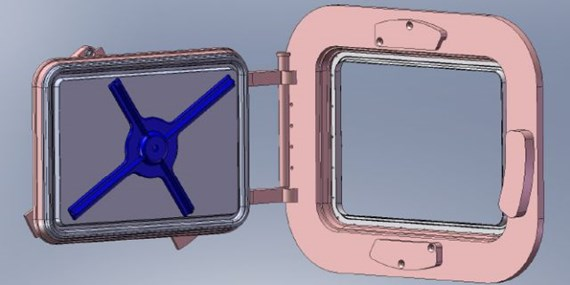 Steripass® CAD model