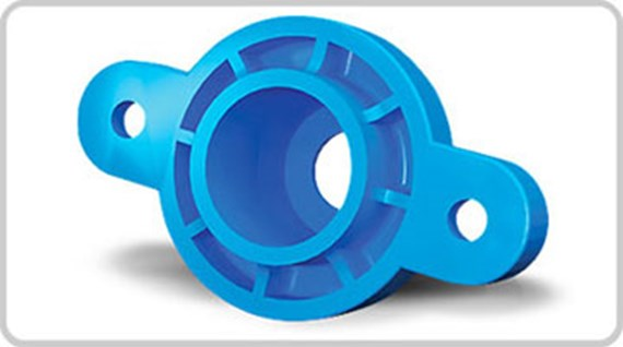Increase strength of injection-moulded parts with glass
